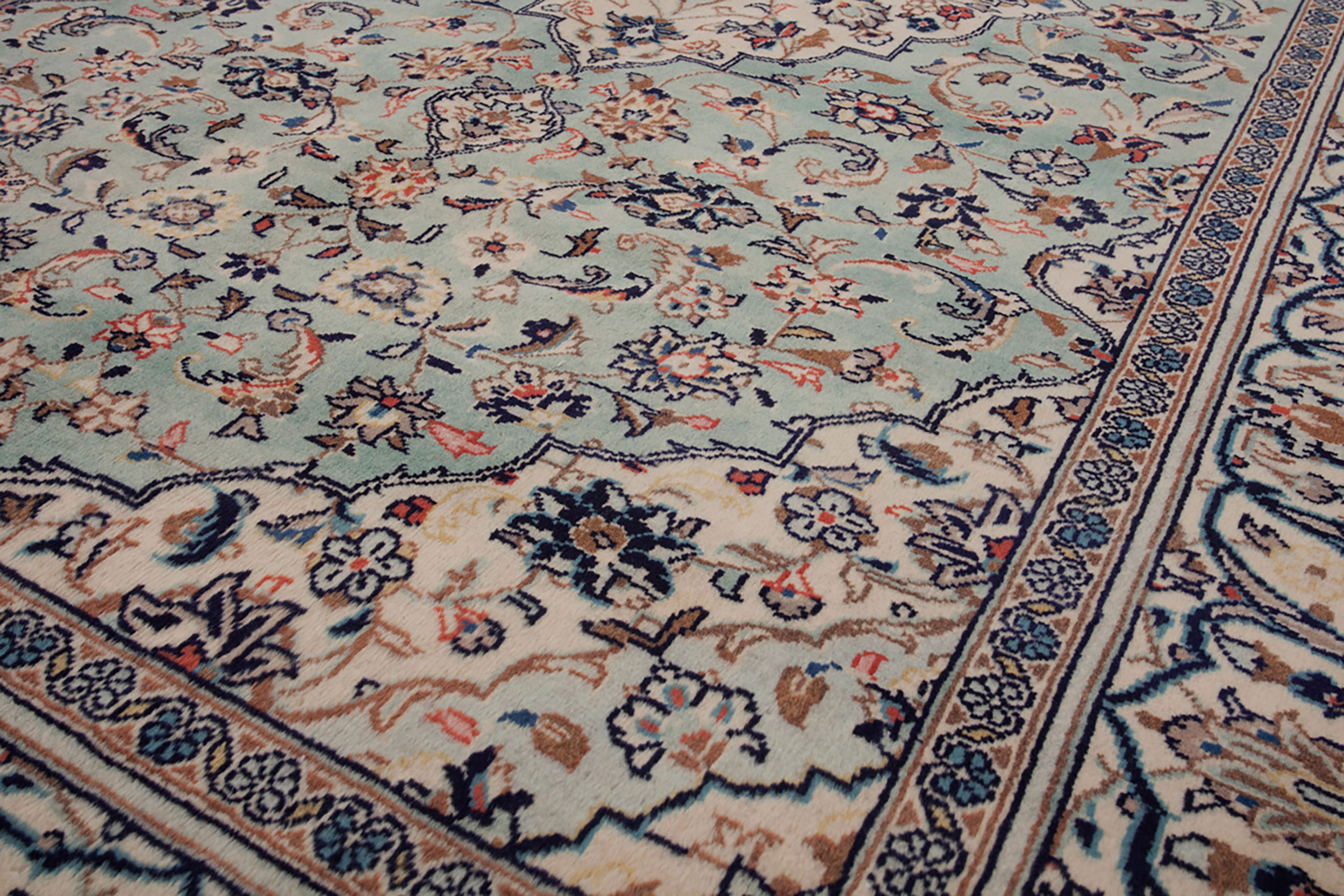 Uk Oriental Carpets London Regal Vintage Kashan Rug