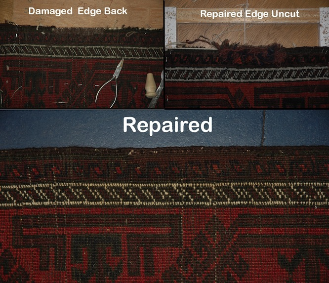 antique rug repair | Sharafi & Co
