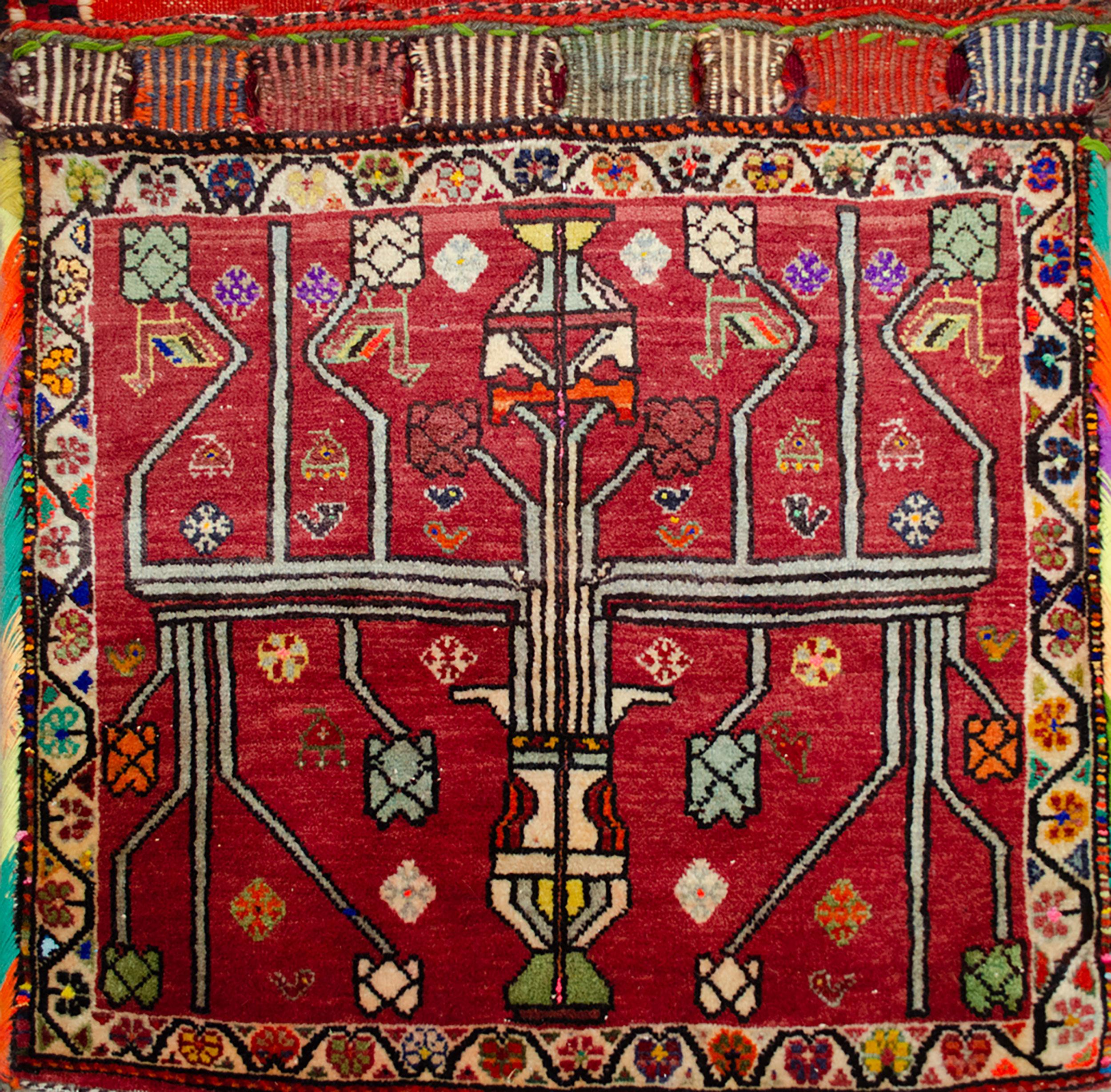 Vintage Qashqai Saddlebag 128x70cm