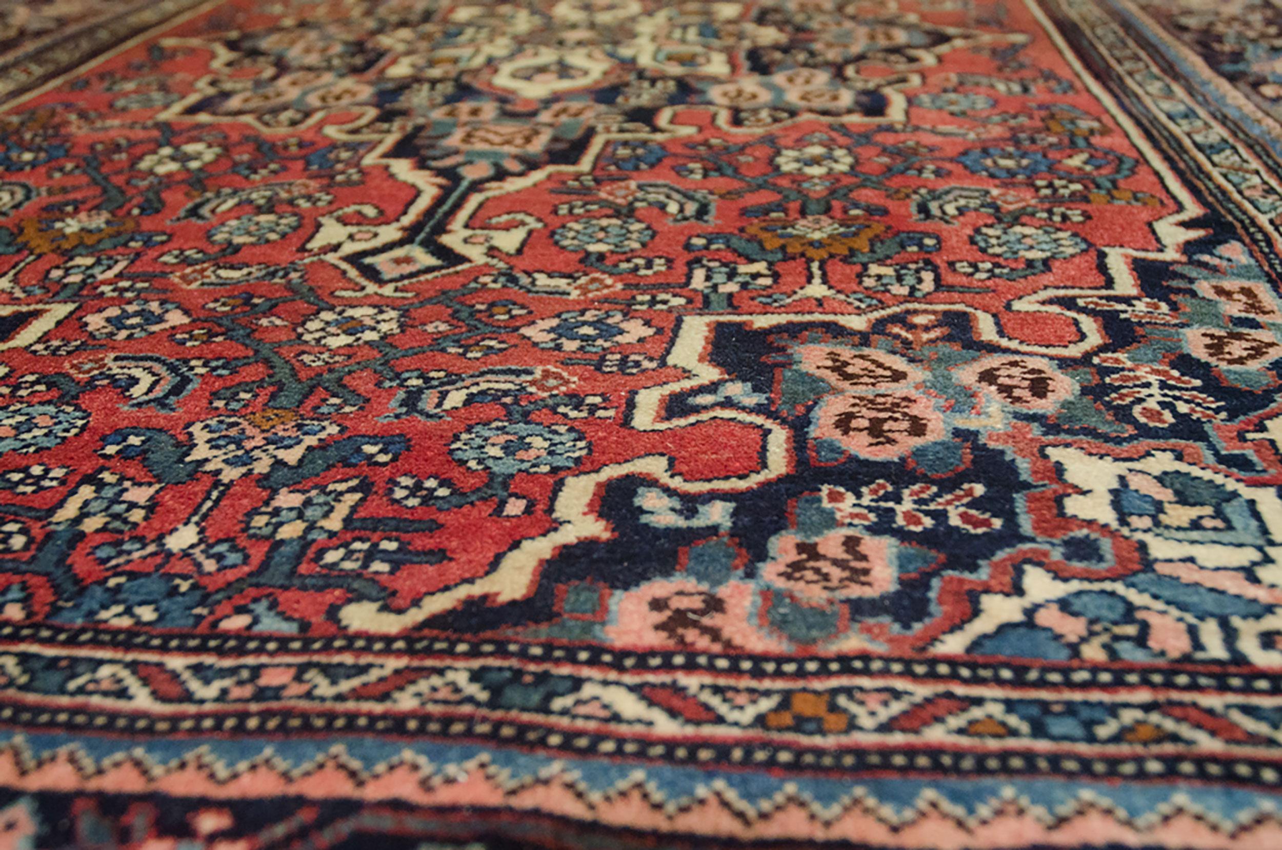 Vintage Bijar Rug 164x111cm