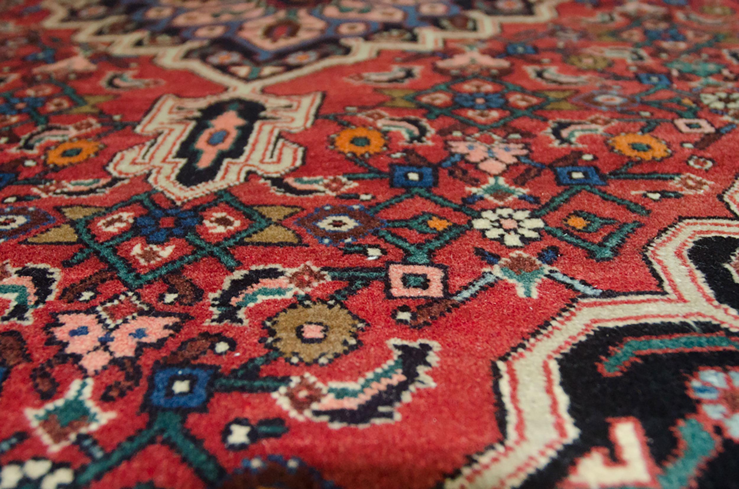 Vintage Bijar Rug 157x106cm