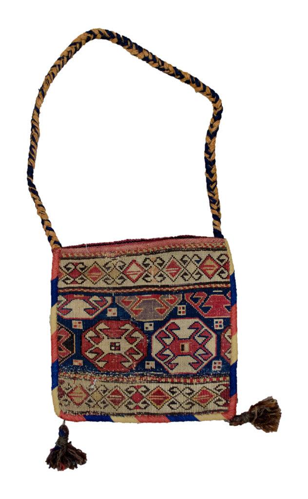 Antique Shahsavan Khorjin Bag 28x28cm