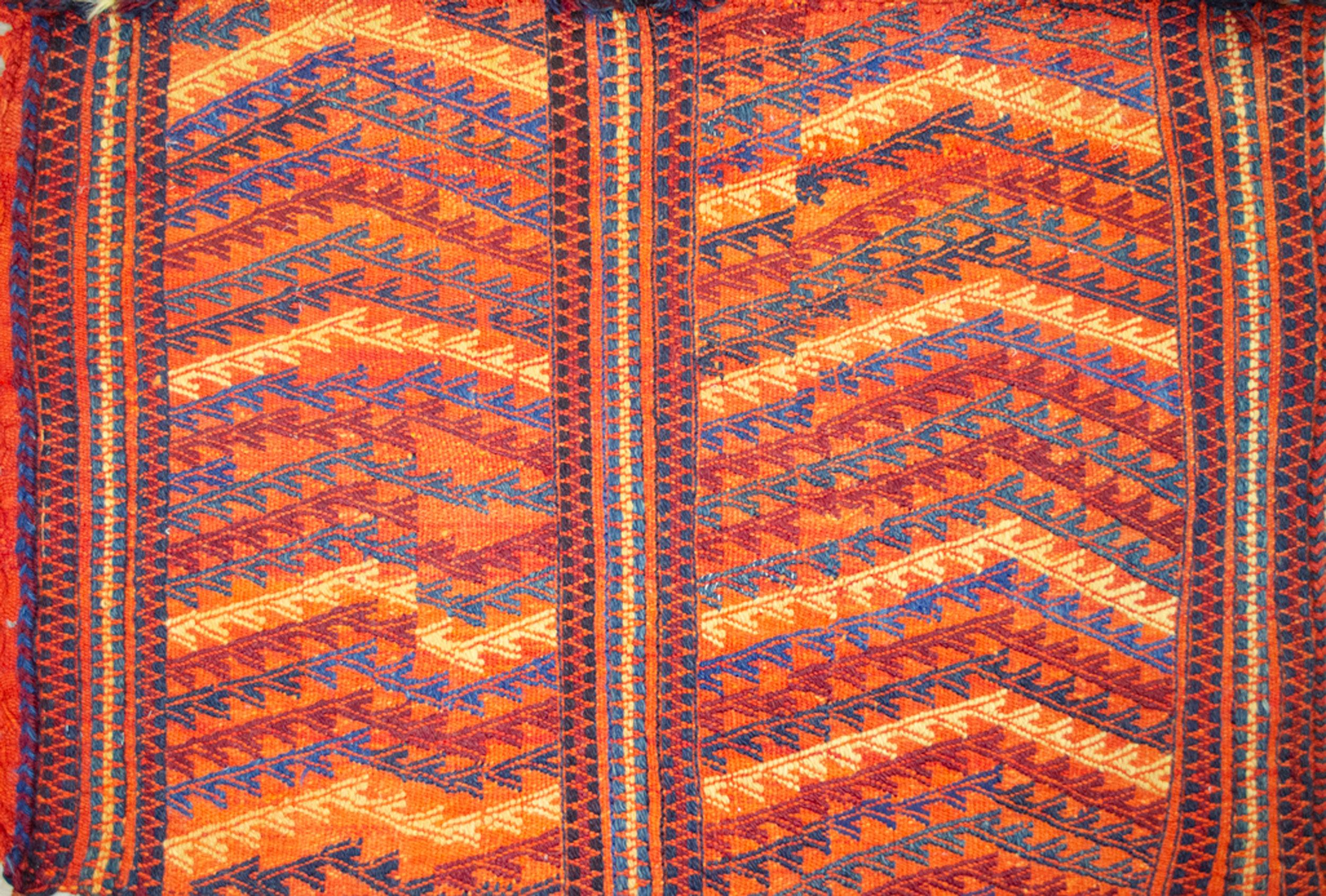 Antique Qashqai Gahvareh Cradel 153x107cm
