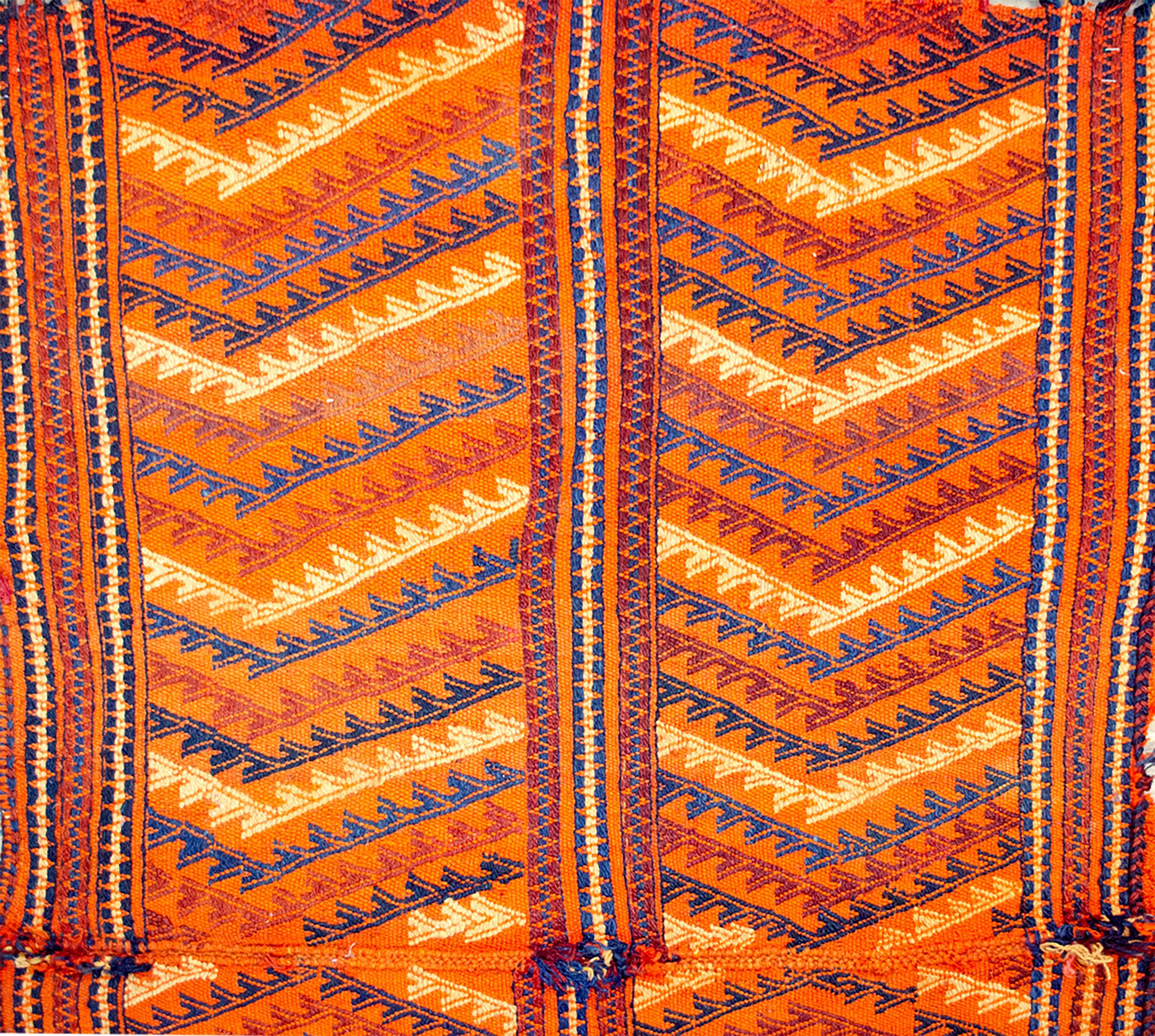 Antique Qashqai Khabgah Cradle 105x153cm
