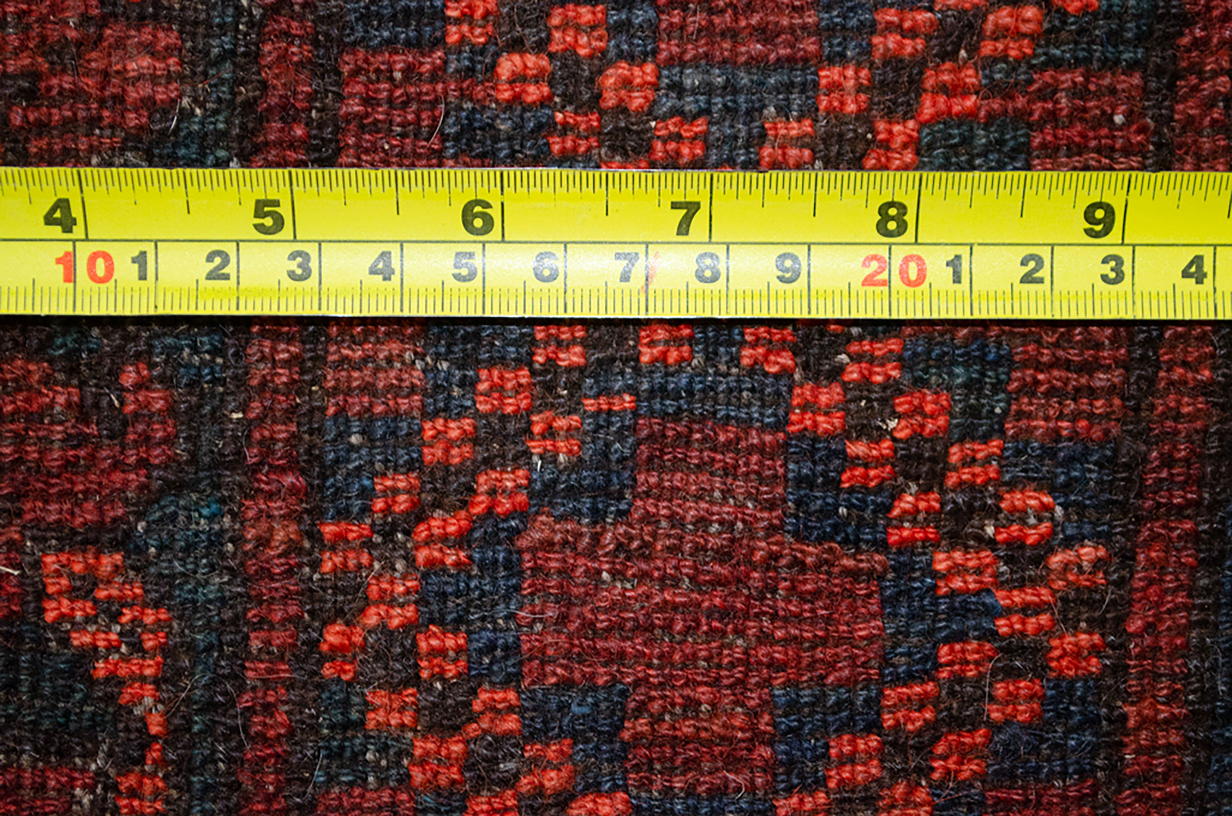 Antique Ersari Carpet 345x263cm