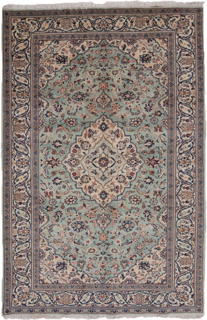 Vintage Kashan Rug 245x150cm