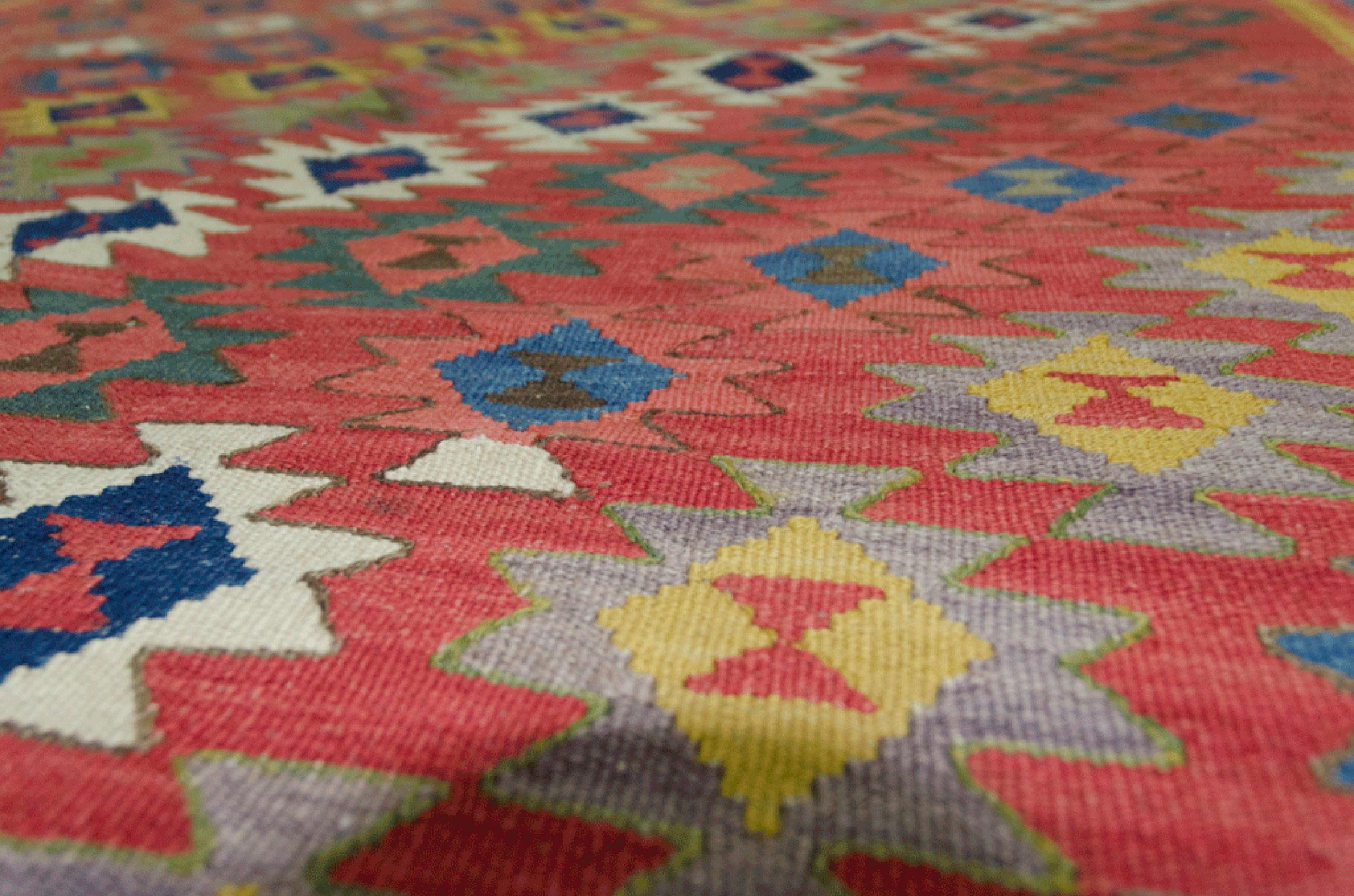 Vintage Qashqai Kilim 247x150cm