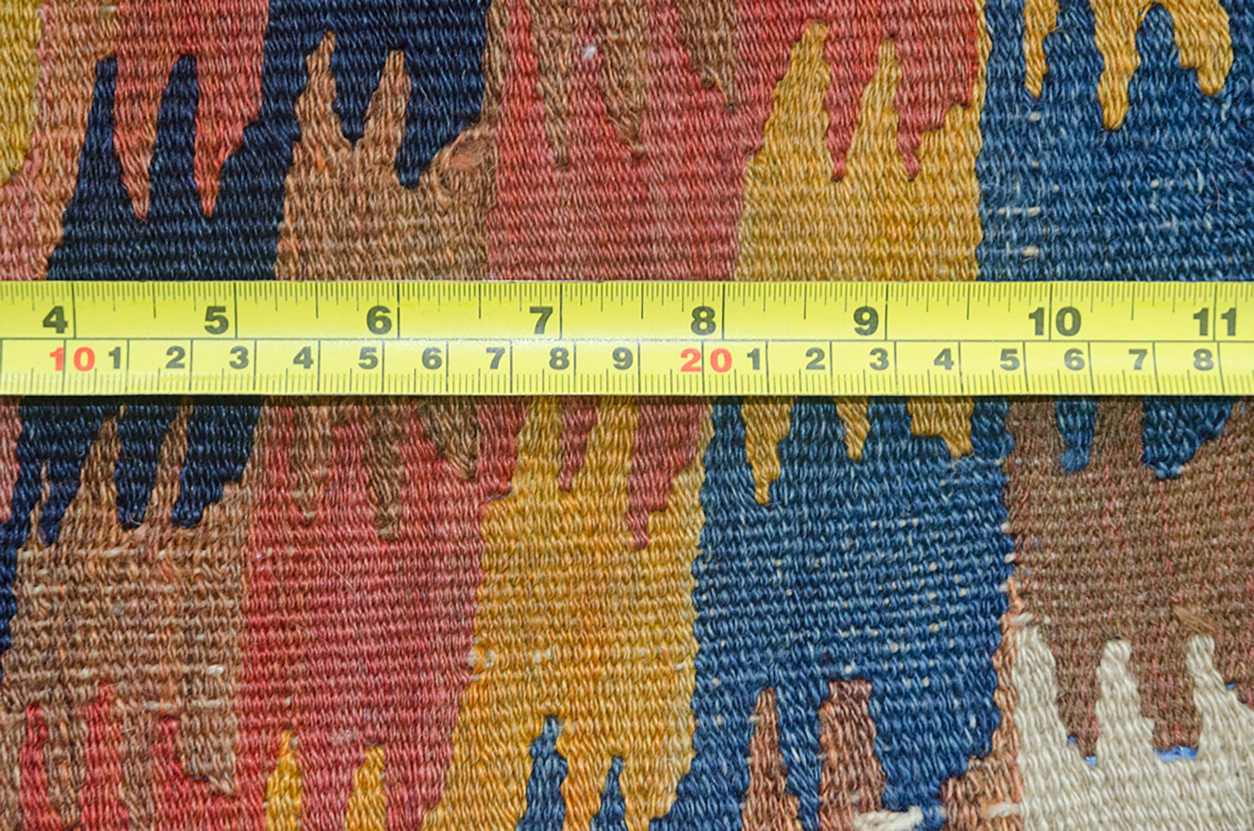 Antique Varamin Kilim Rug 230x140cm