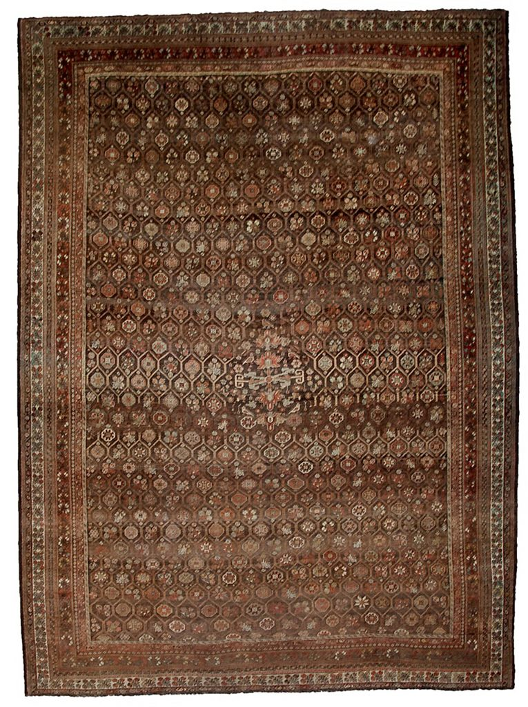 Antique Bakhtiar Carpet 495x360cm