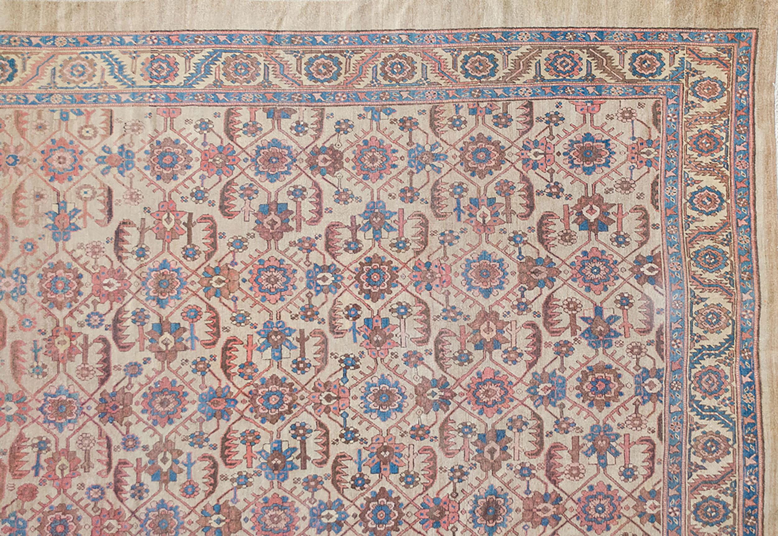 Antique Bakhshaysh Carpet 352x300cm