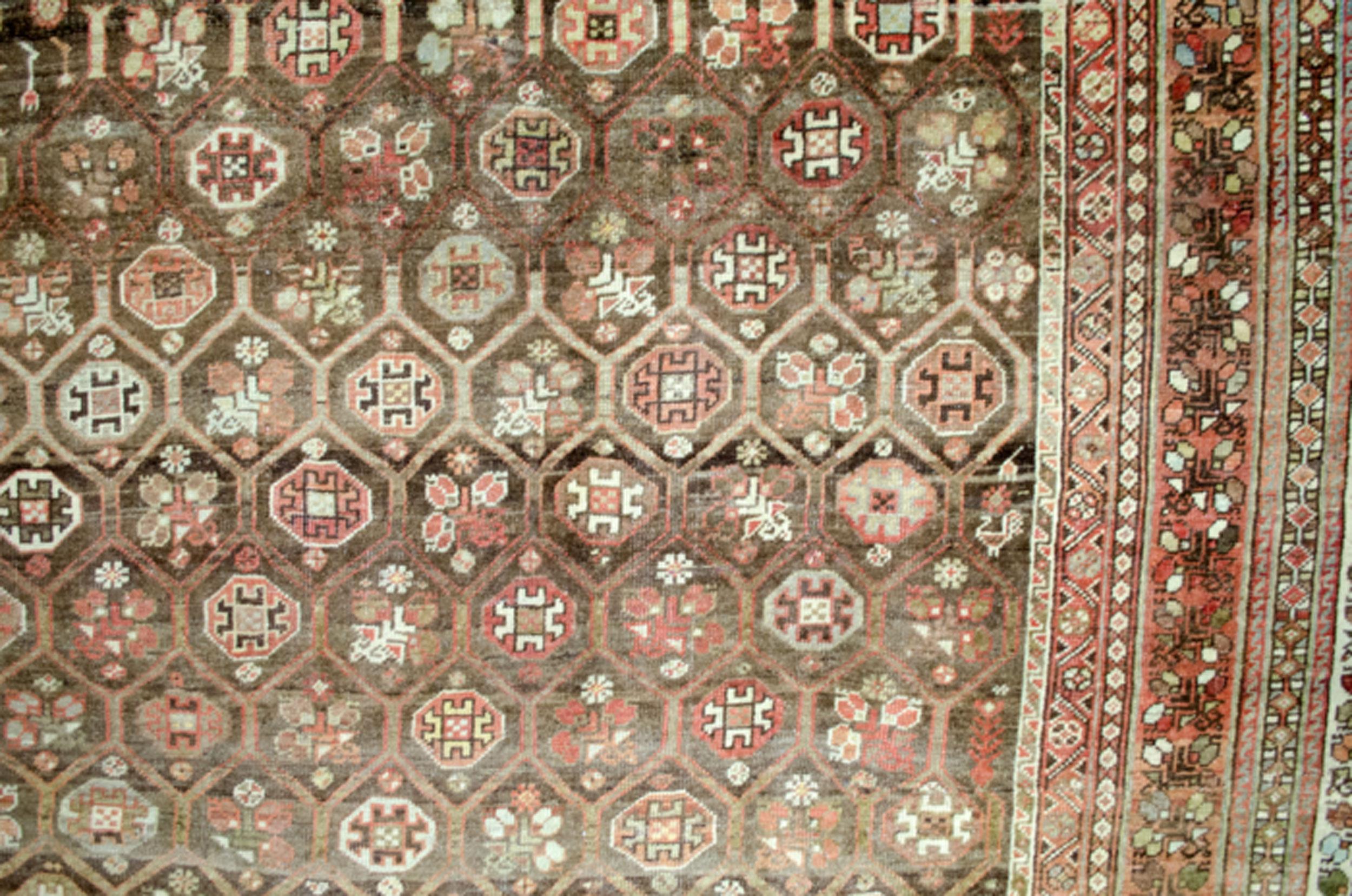 Antique Bakhtiar Carpet 495x360cm