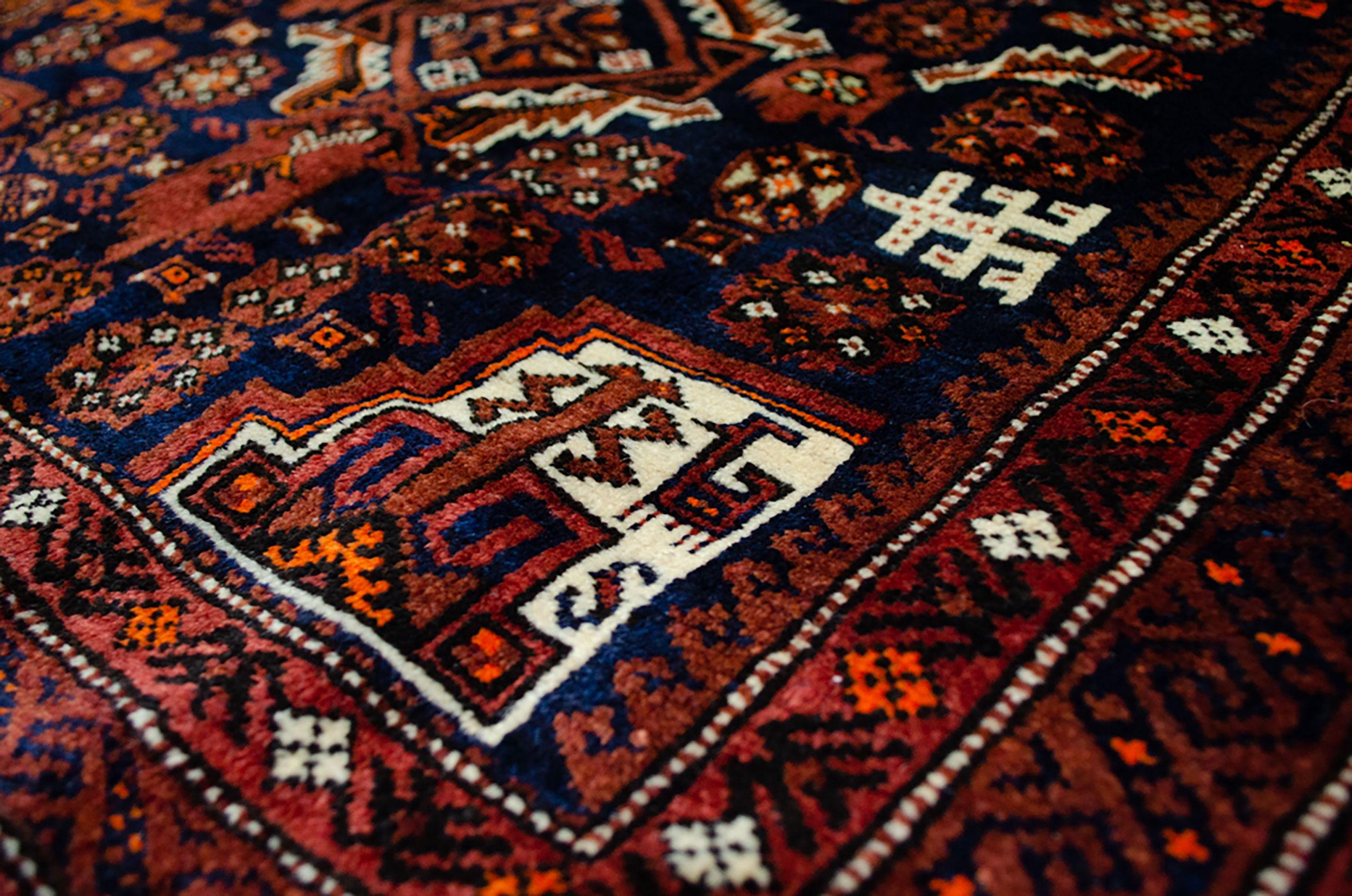 Vintage Baluch Bag 82x82cm