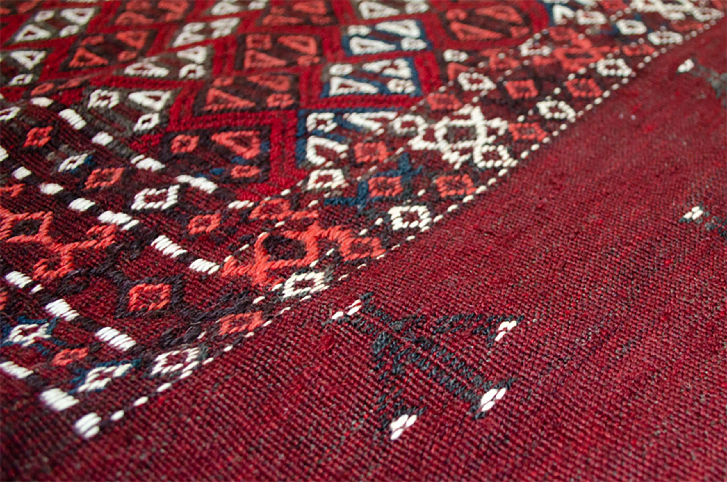 Vintage Persian Turkman Bag 75x105cm