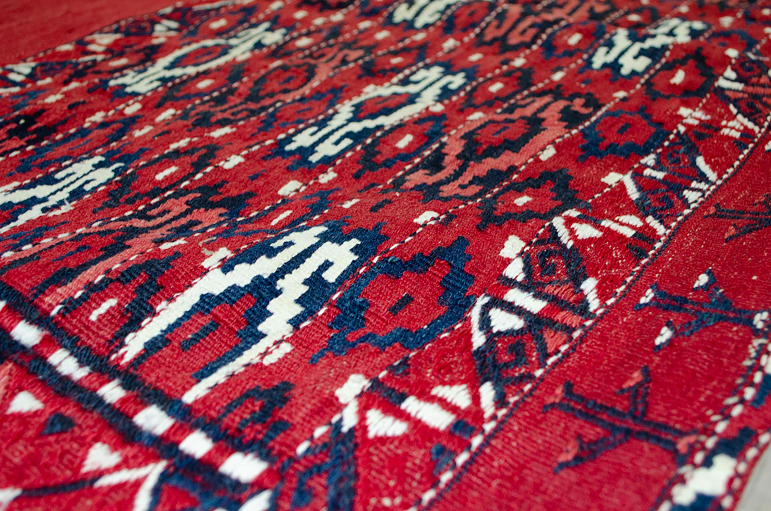 Vintage Turkman Tobreh Bag 72x112 cm