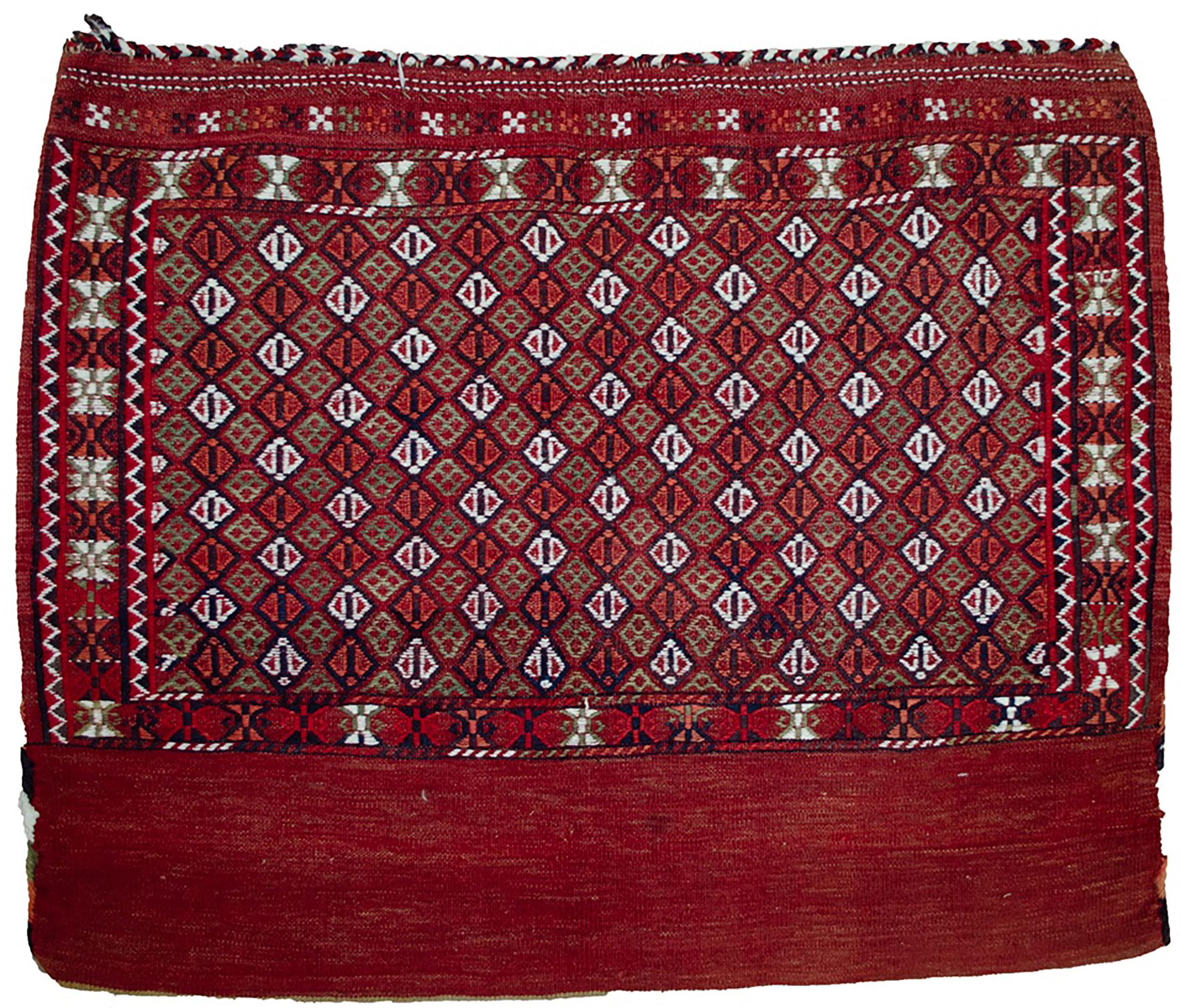 Vintage Turkman Tobreh Bag 80x97cm