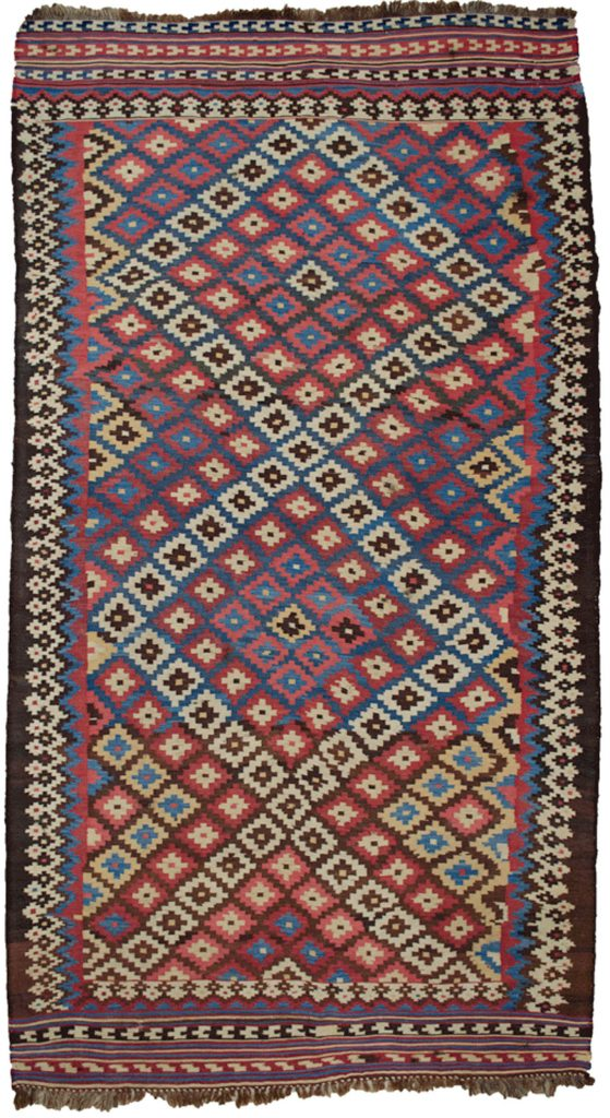 Antique Bakhtiar Kilim 275x151cm