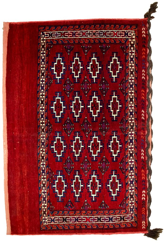 Vintage Turkmen Joval Bag 117x74cm