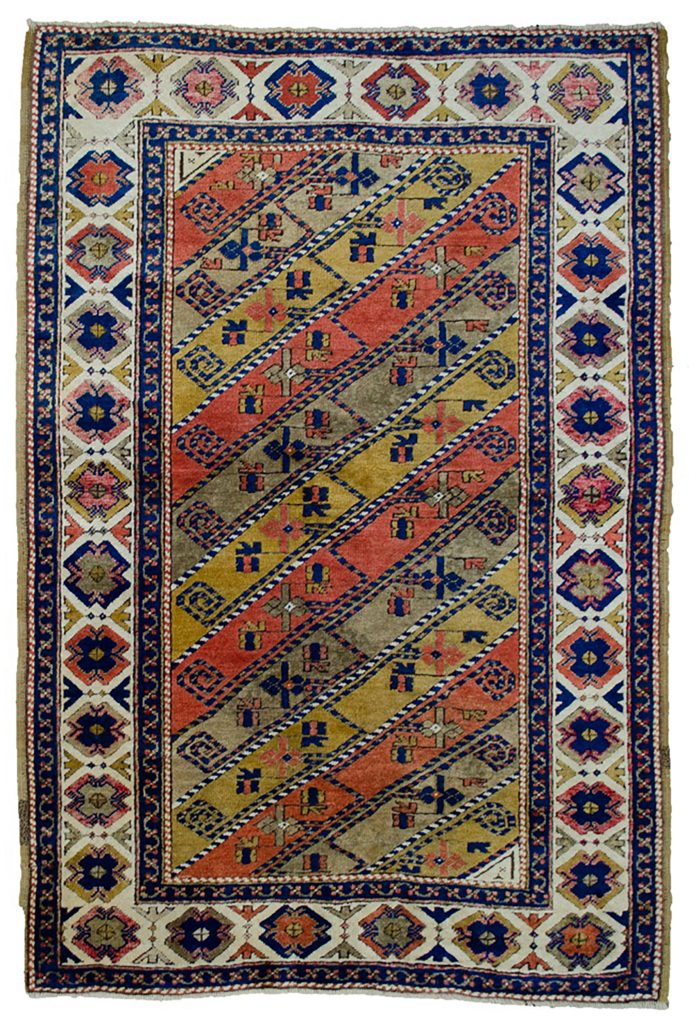 Vintage Turkish Rug 157x108cm