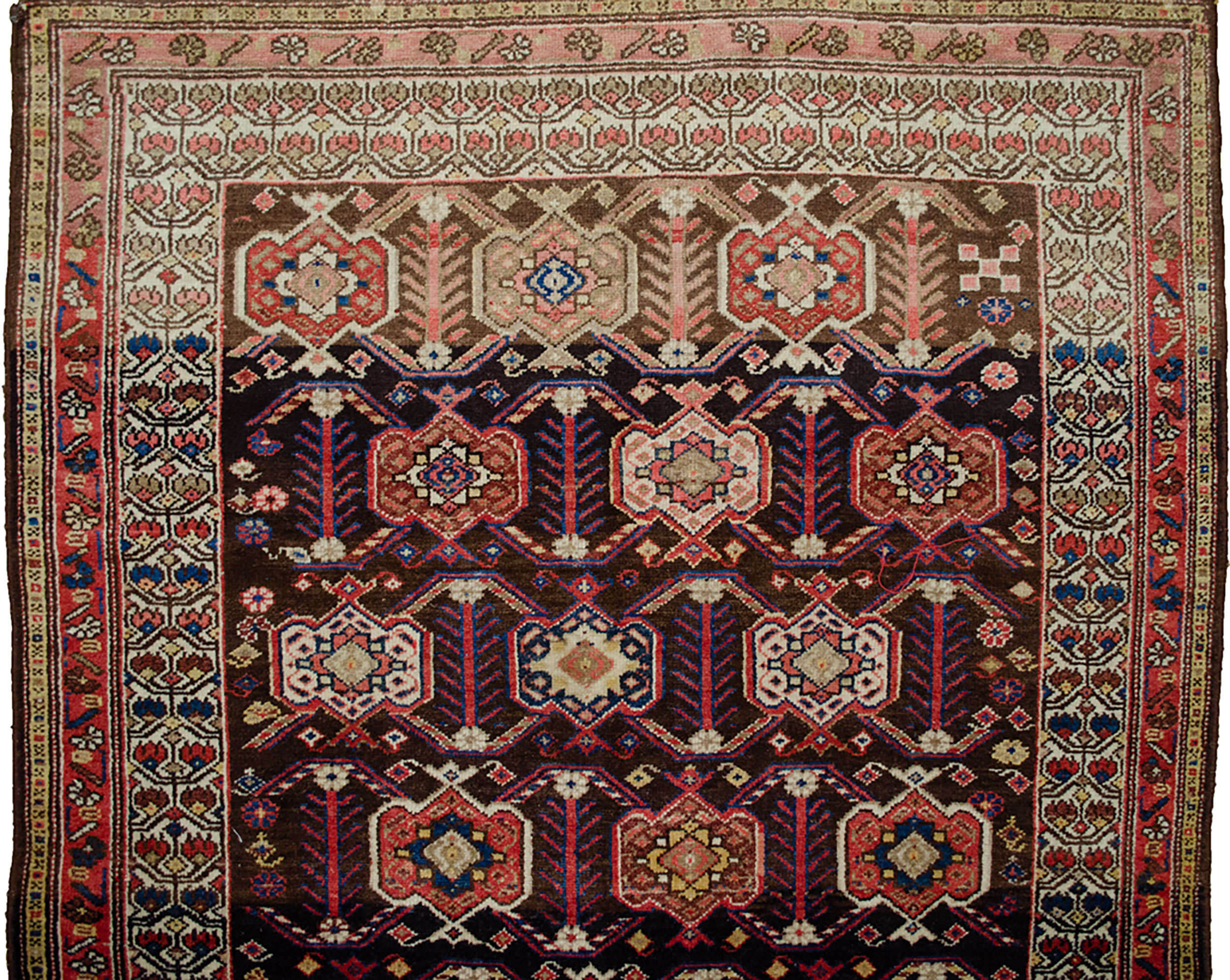 Antique Shahsavan Rug 206x129cm