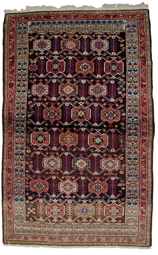 Antique Shahsavan Rug 206x129cm
