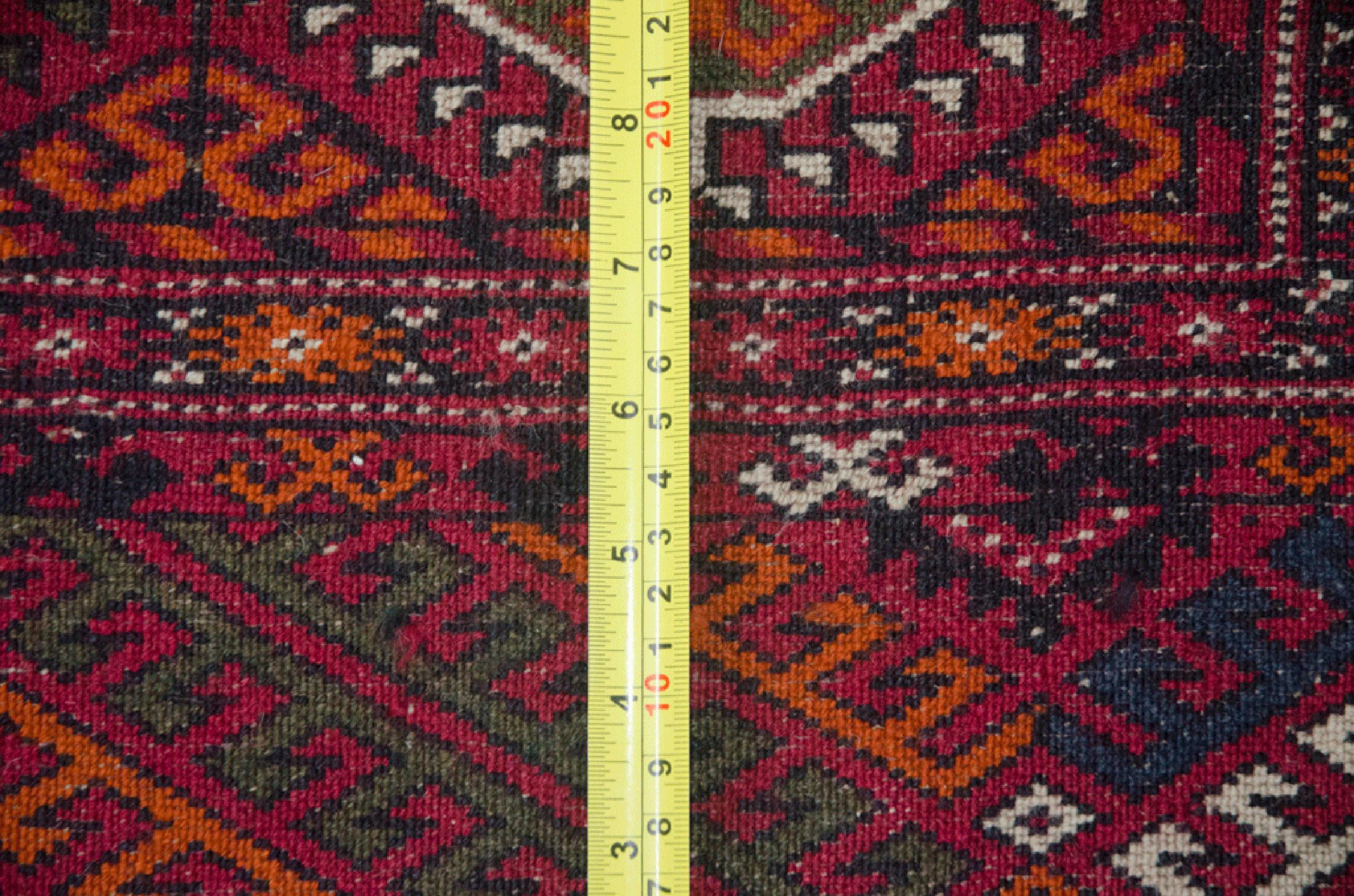 Antique Turkmen Carpet 312x235cm