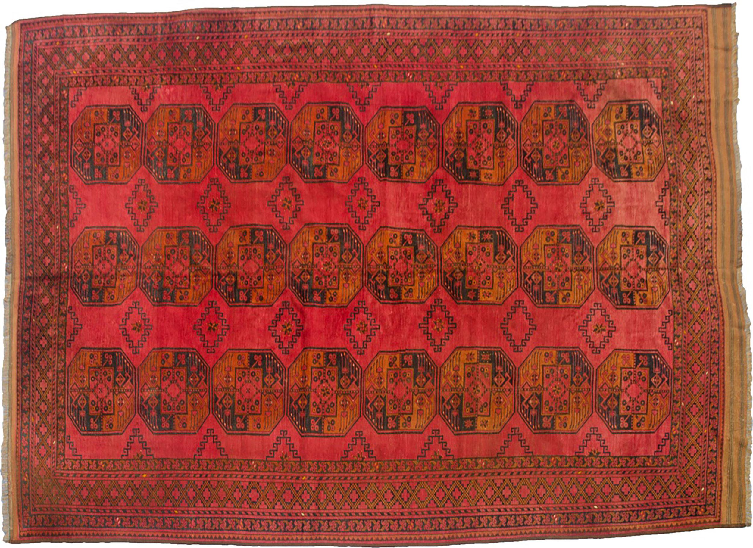 Antique Ersari Carpet 383x286cm