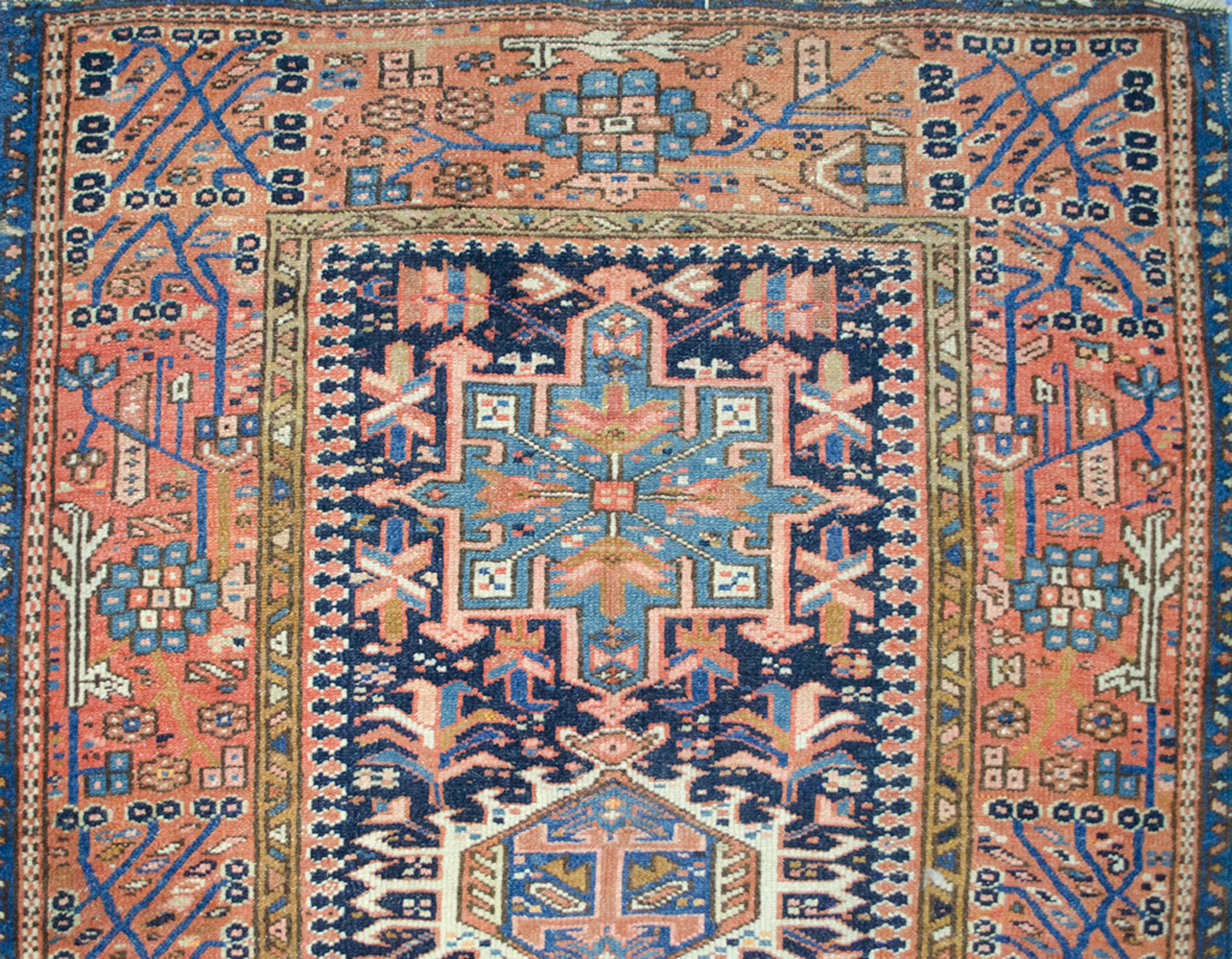 Antique Karaja Rug 137x99cm