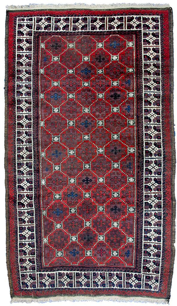 Antique Baluch Rug 182x108cm
