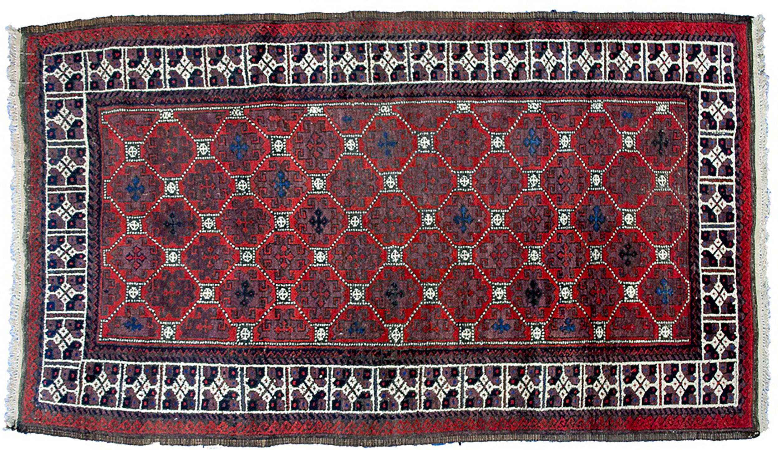 Antique Baluch Rug 182x108cm