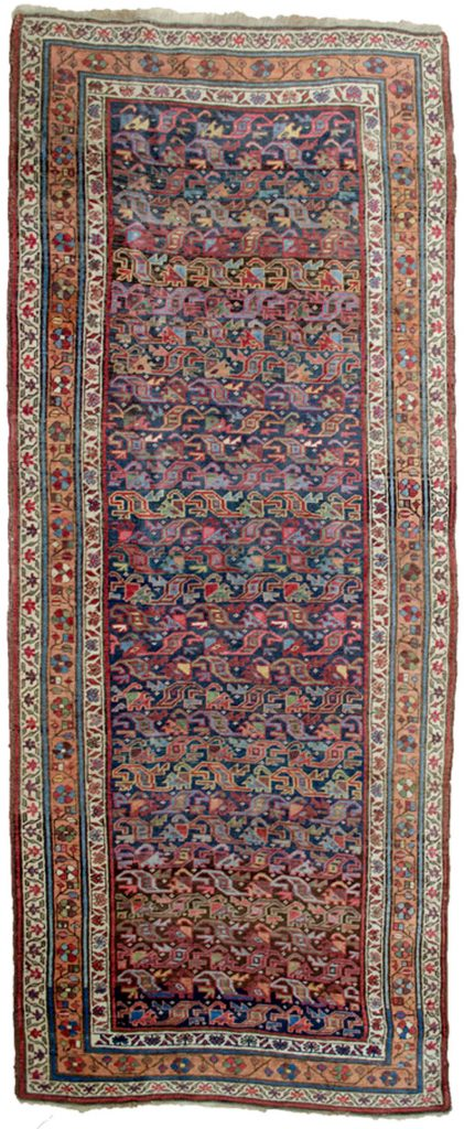 Antique Bijar Runner 295x123cm