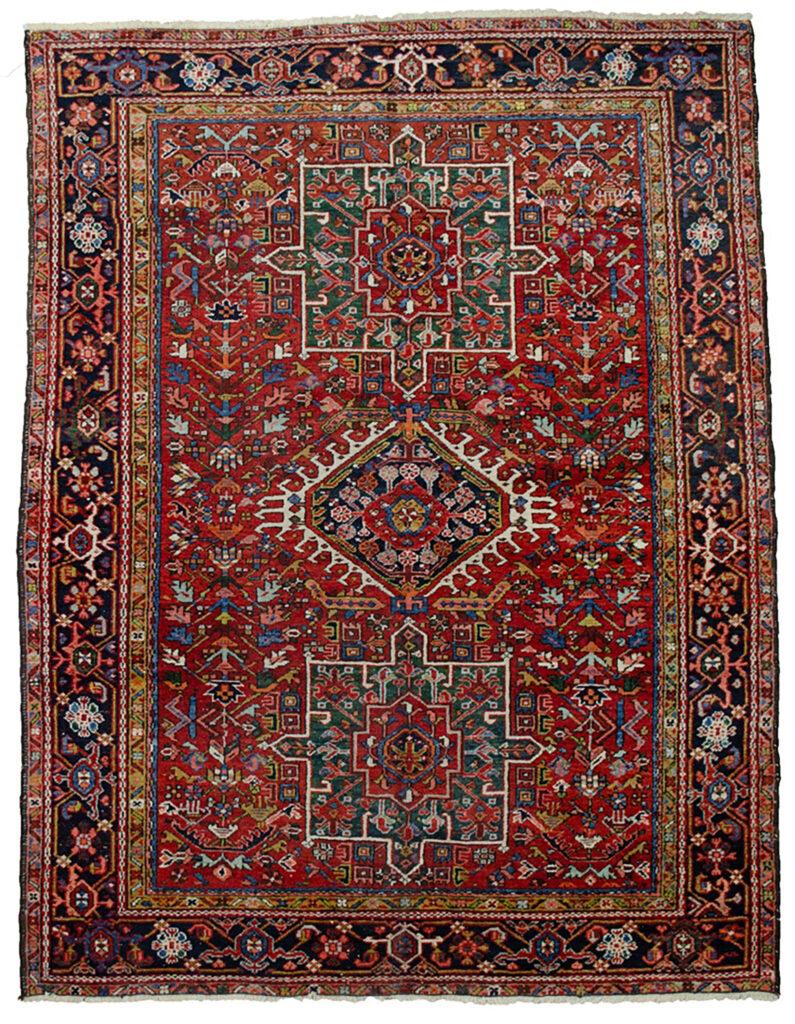 Antique Karaja Rug 185x143cm