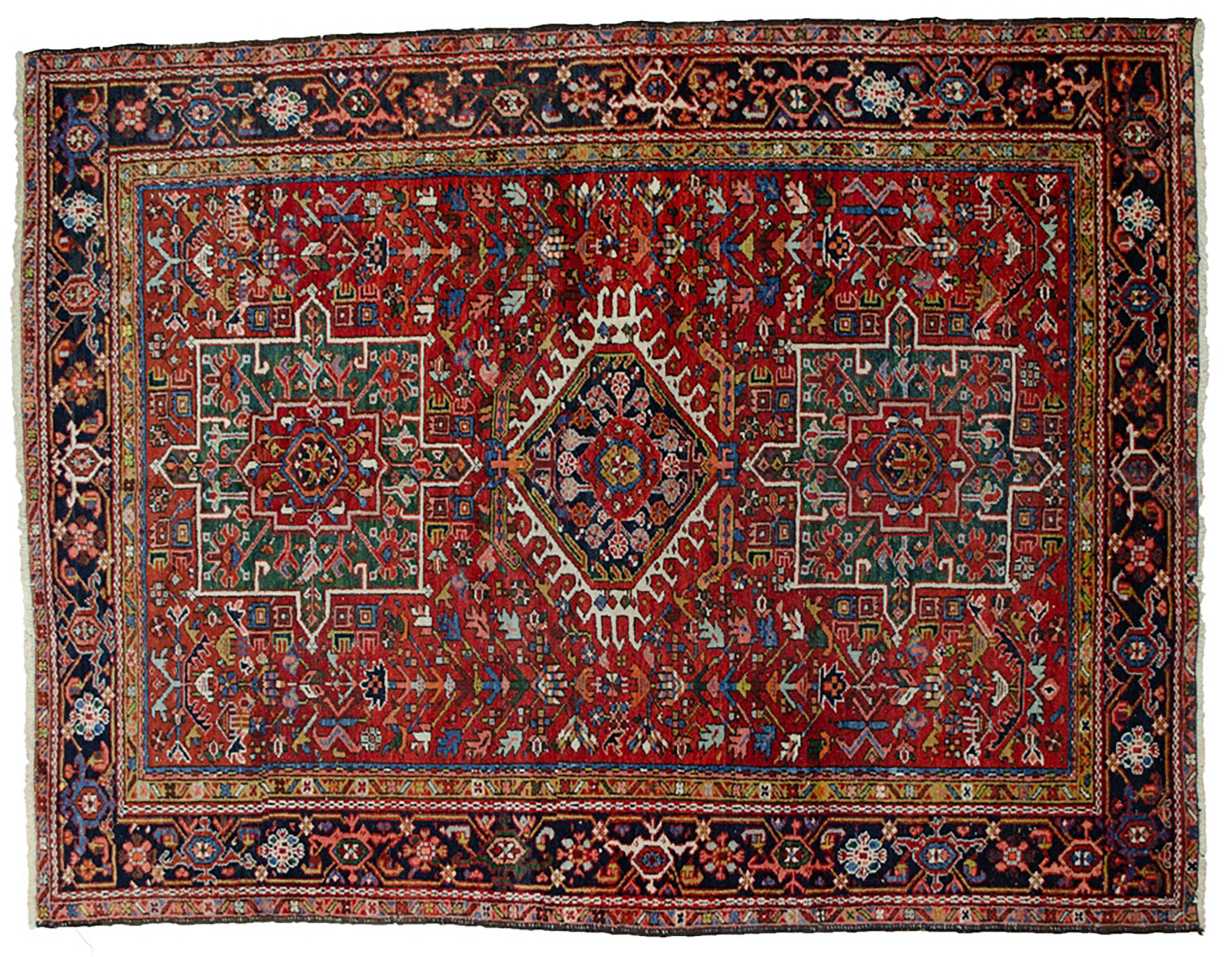 Antique Karaja Rug 185x143cm
