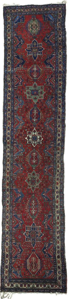 Antique Heriz Runner 455x98cm