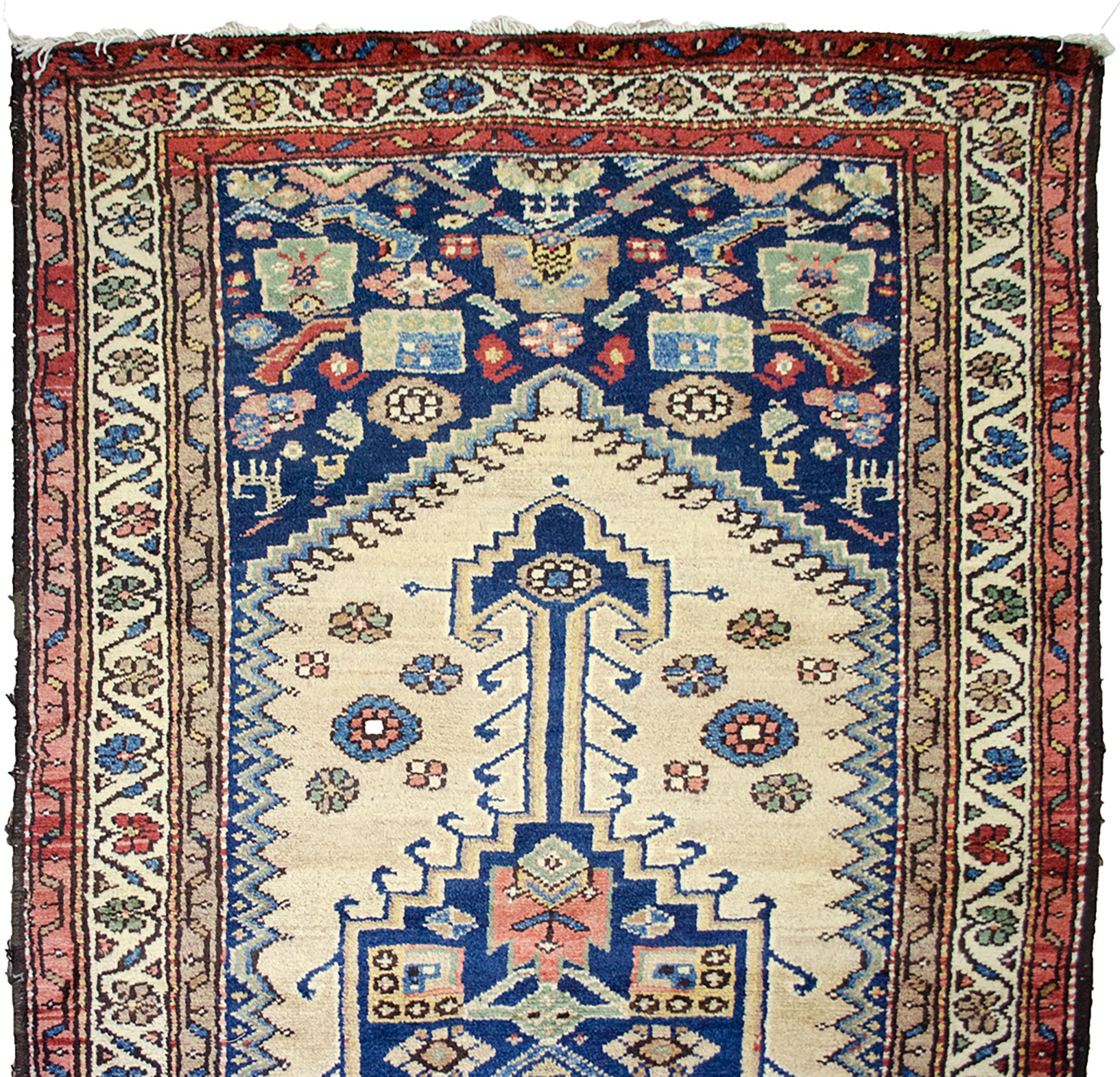 Vintage Kurdish Runner 390x113cm