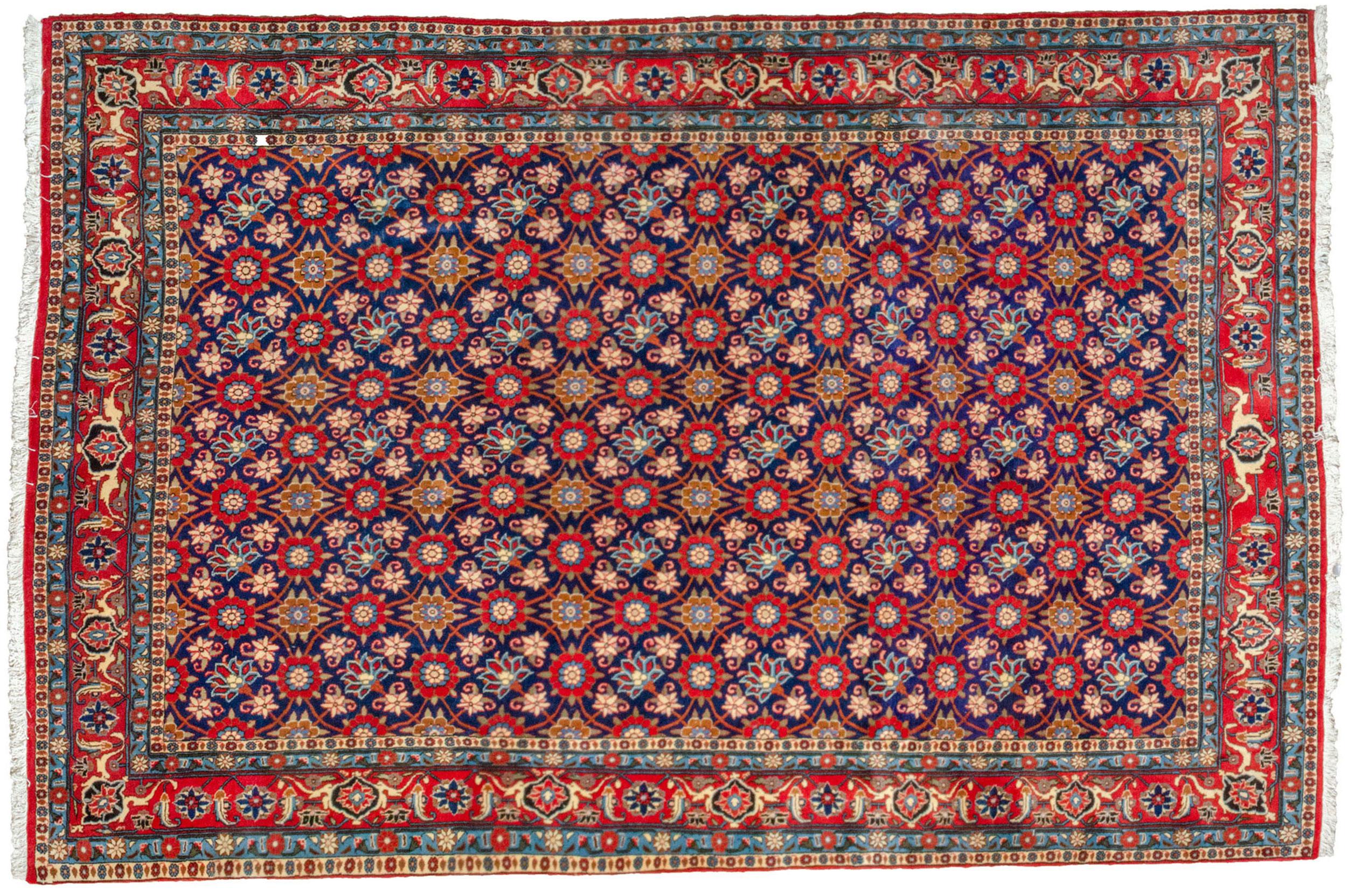Vintage Varamin Carpet 298x199cm