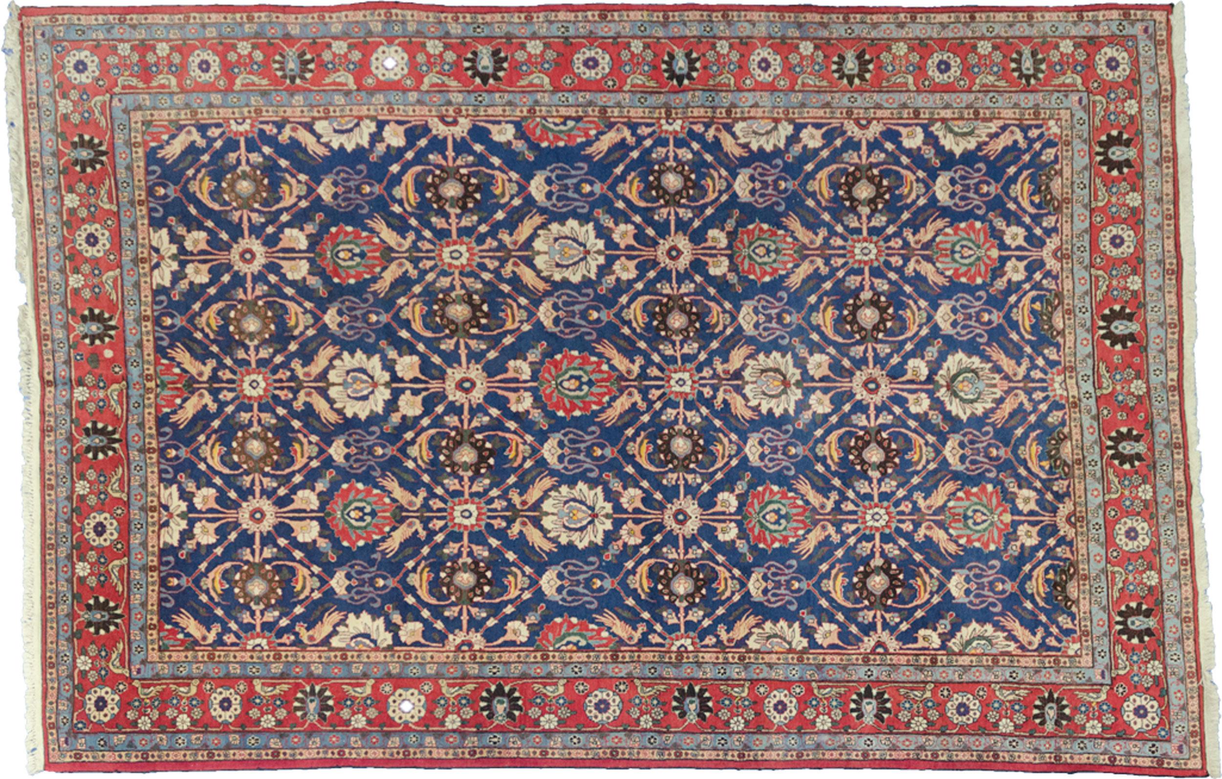 Vintage Varamin Carpet 315x207cm