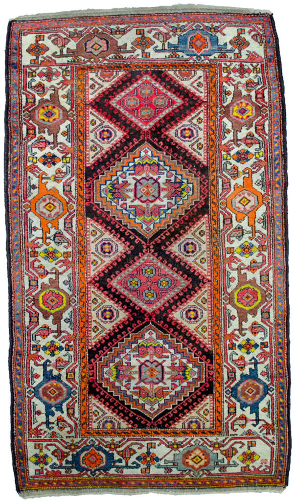 Antique Zanjan Rug 194x114cm