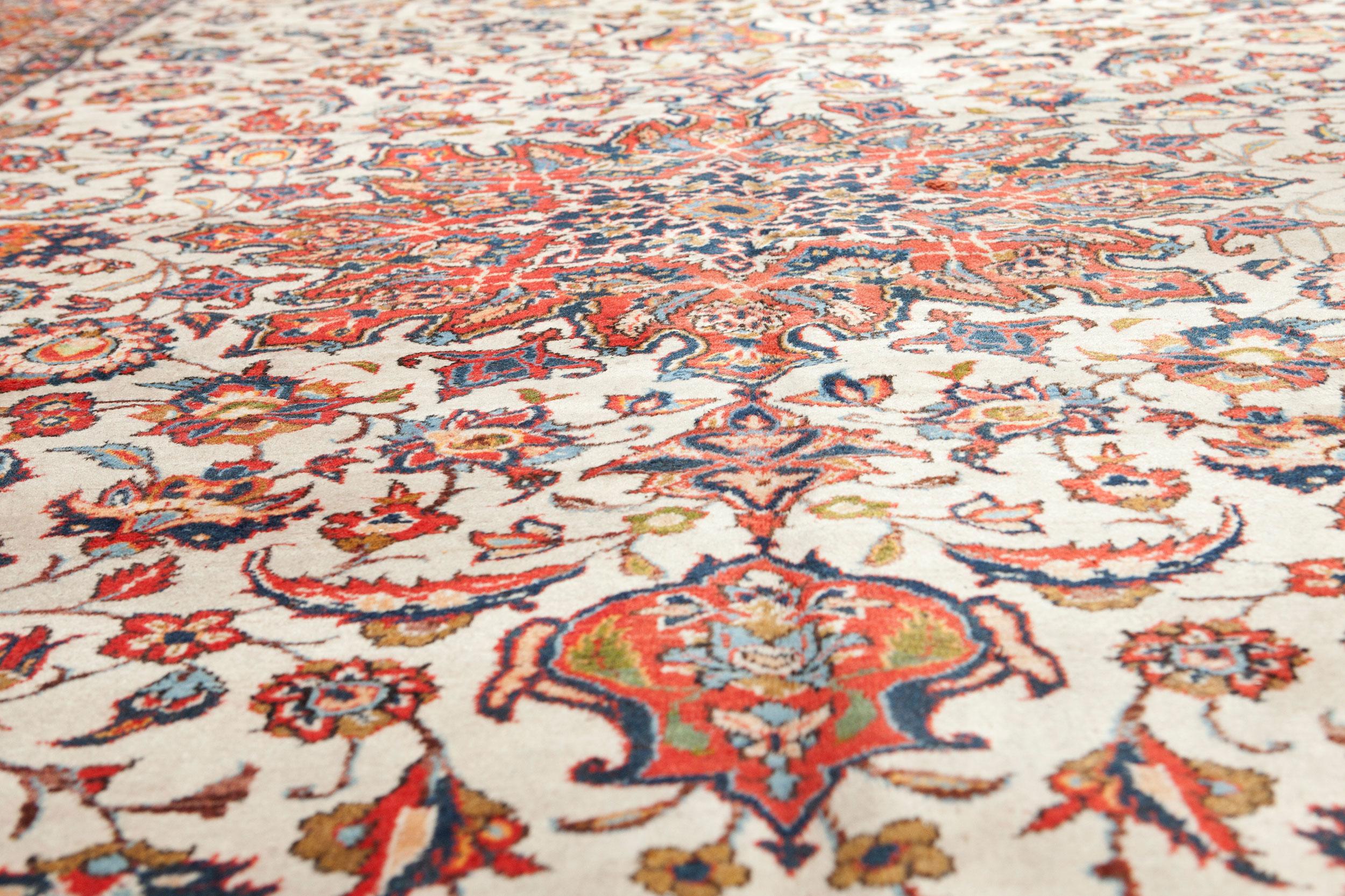 Vintage Najafabad Carpet 378x248cm