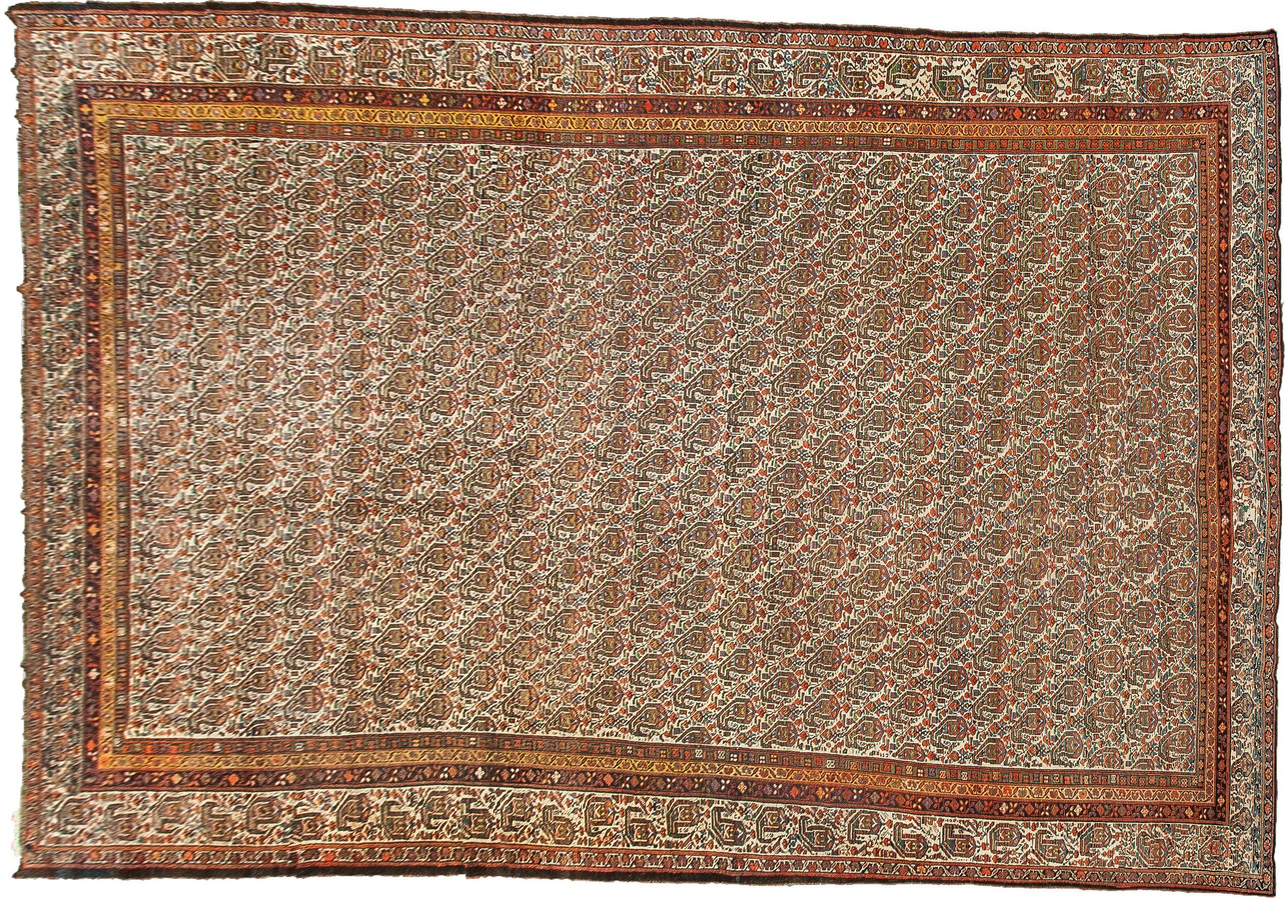 Antique Bakhtiar Carpet 610x355cm