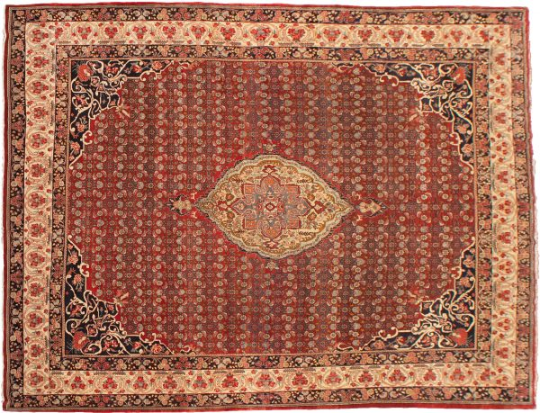 Vintage Bijar Carpet 460x335cm