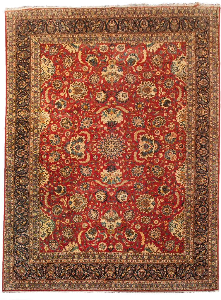 Vintage Kashan Carpet 565x415cm