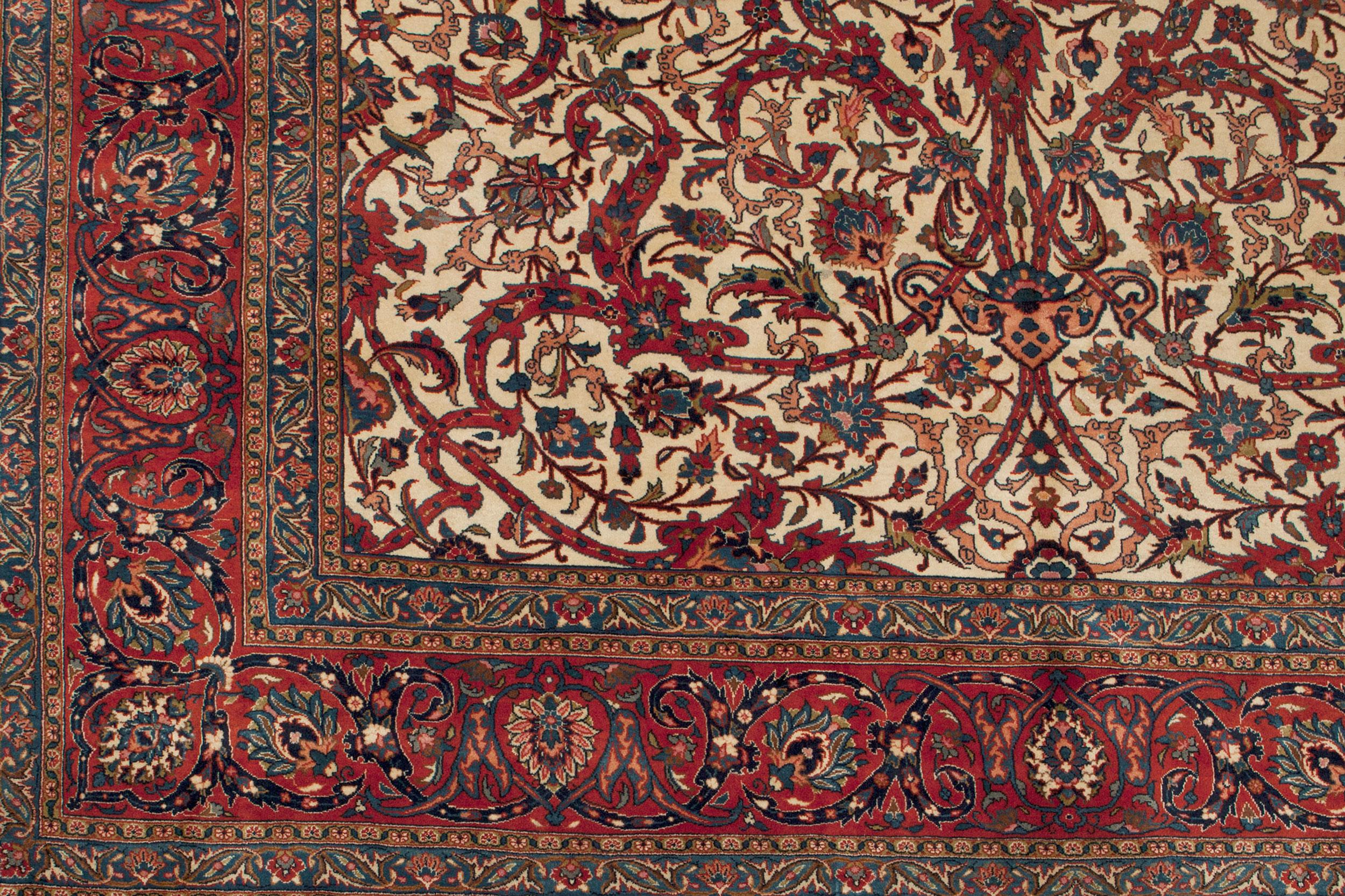 Vintage Mashad Carpet 455x295cm