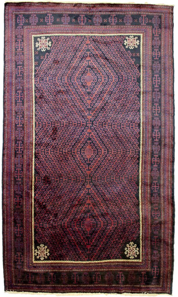 Vintage Baluch Carpet 297x176cm