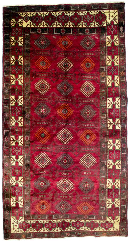 Vintage Baluch Carpet 284x149cm