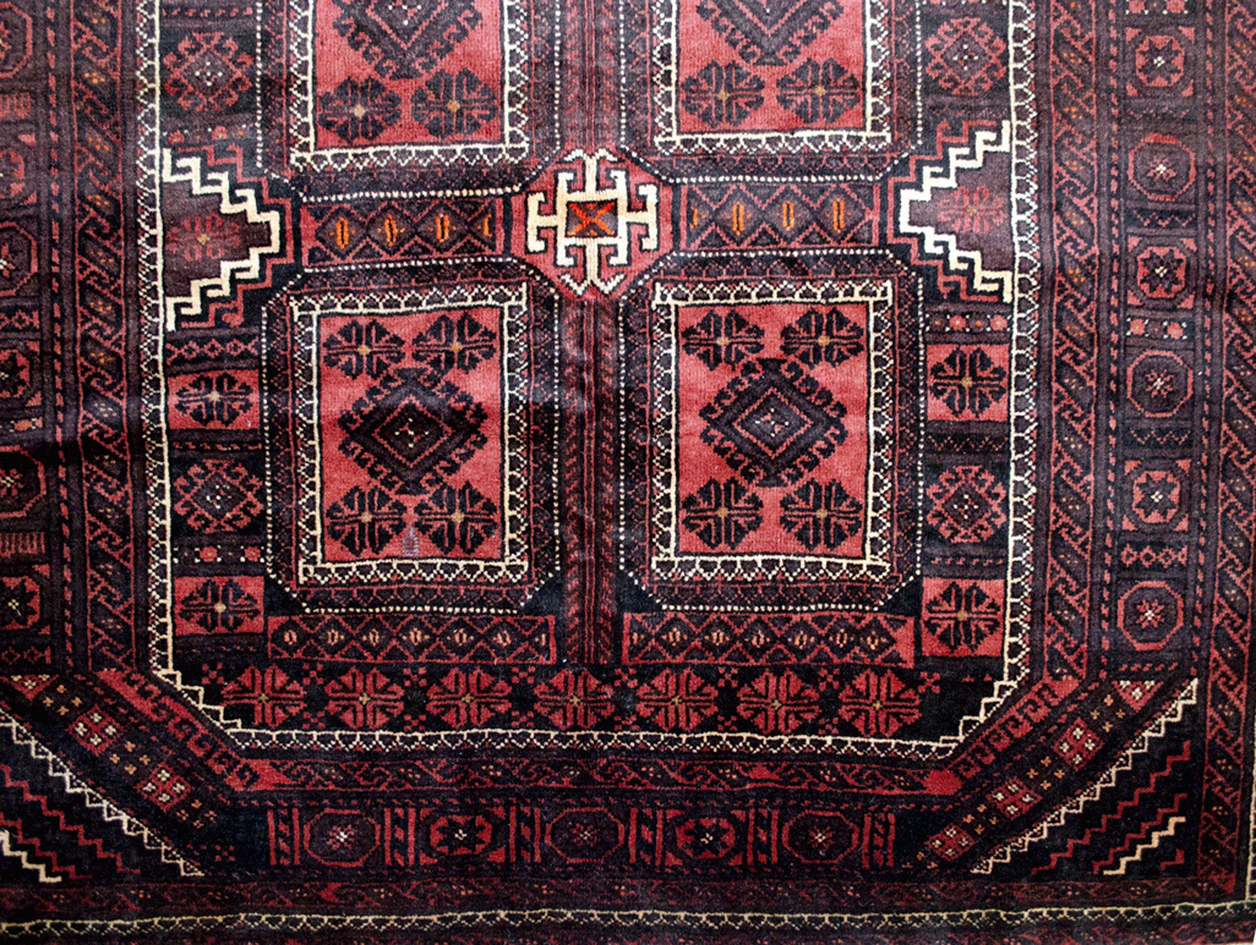 Vintage Baluch Carpet 321x176