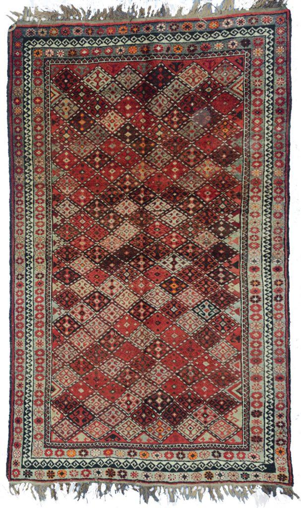 Vintage Ghoochan Rug 233x137cm