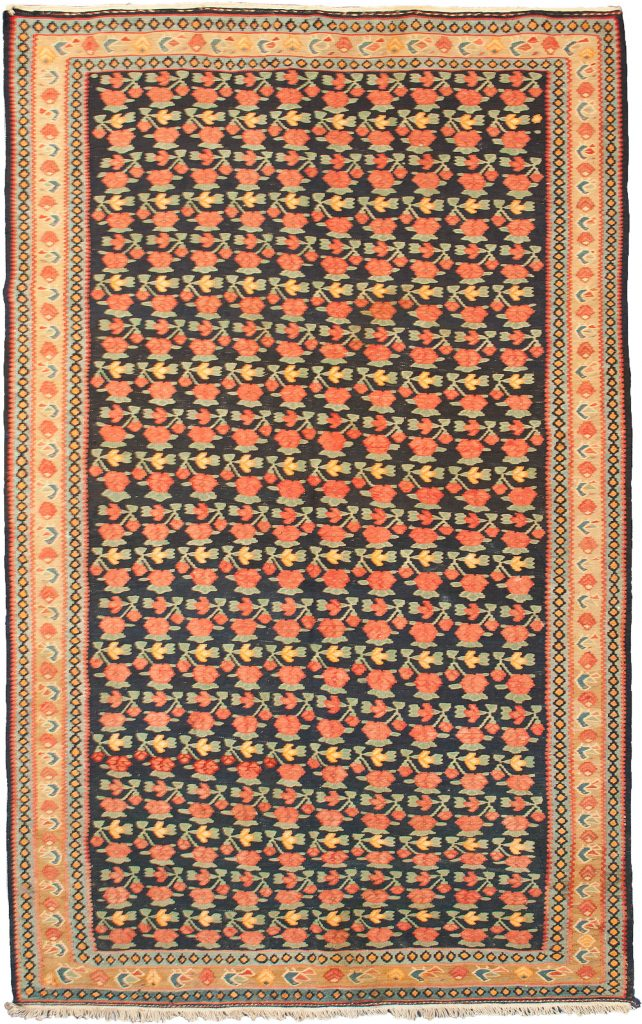Antique Bijar Kelim Rug 226x127cm