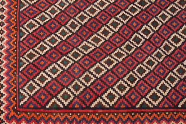 Vintage Afshar Kilim 300x225cm