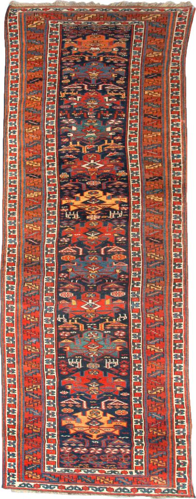 Antique Shahsavan Runner 387x97cm
