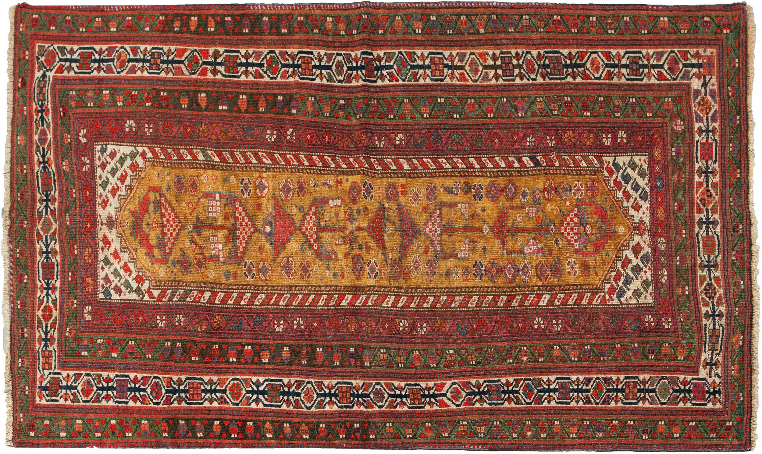 Antique Kordi Rug 205x135cm